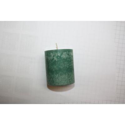 Trendkerzen 130/60 (4) smaragd gegossen 100448