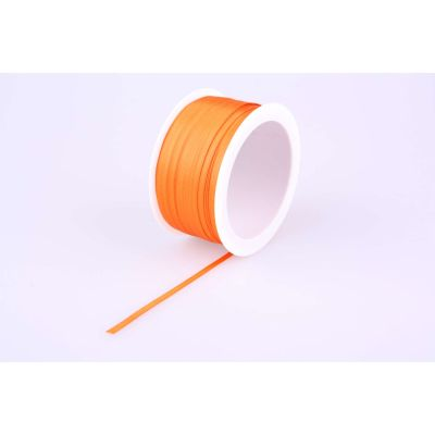 Deco-Bd. Doppelsatinband 03mm 50m, orange 010751