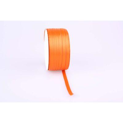 Deco-Bd. Doppelsatinband 06mm 50m, orange 010768