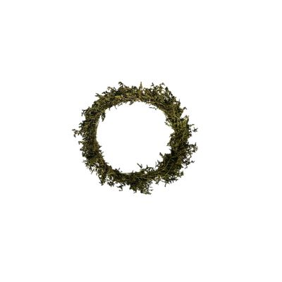 Dried Flower Ring 28cm, grün  114096