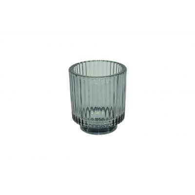 Glas-Votive 9 x 10 cm smoke 115785