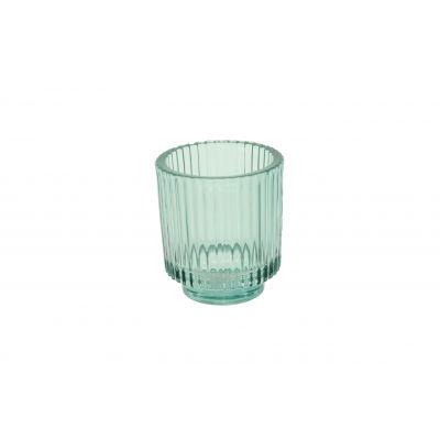 Glas-Votive 9 x 10 cm grün 115787