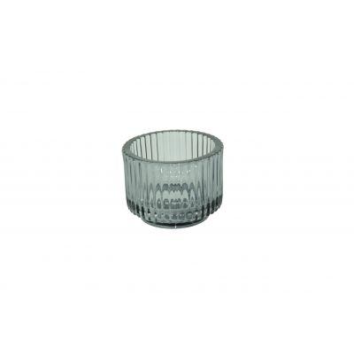 Glas-Votive 9 x 7 cm smoke 115790