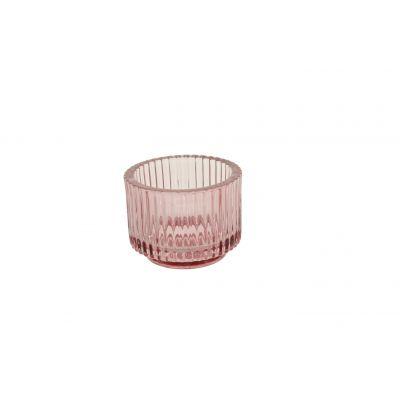 Glas-Votive 9 x 7 cm pink 115791