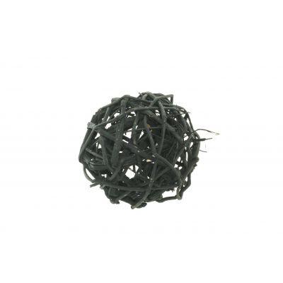 Reben-Kugel  15cm schwarz Weinrebe 116472