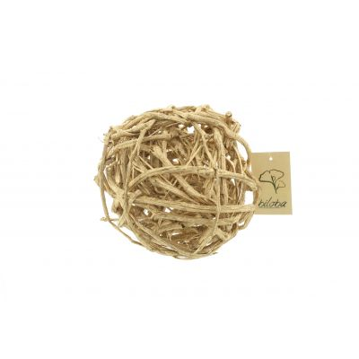 Reben Kugel  20cm gold Weinrebe 116474