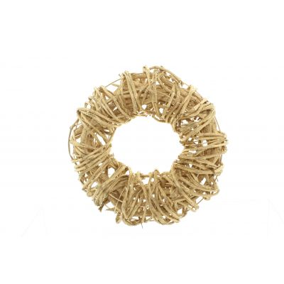Reben-Ring  30 cm gold Weinrebe 116492