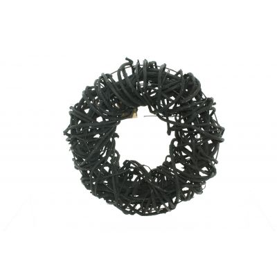 Reben-Ring  30 cm schwarz Weinrebe 116493