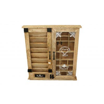 Holz-Schrank Organizer 70 x 9 x 75 cm 116662