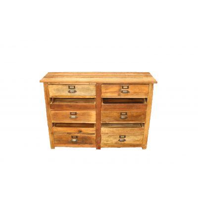 Holz-Side-Board 110 x 34 x 81 cm 116667