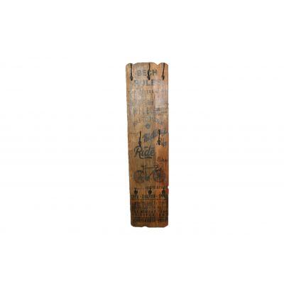 Holz-Tafel 38 x 11 x160 cm 116668