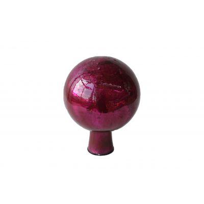 Rosenkugel 7,5 cm  foil violett 118104