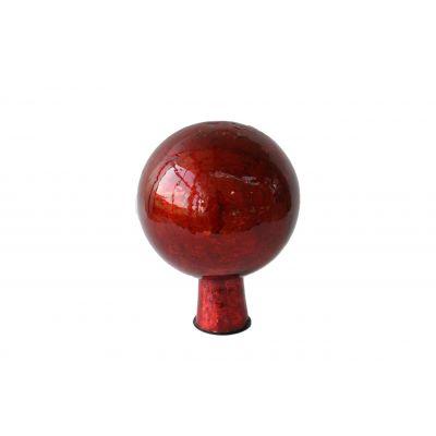 Rosenkugel 12,5 cm foil rot 118110