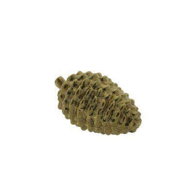 Keramik-Zapfen 11x6,7x6,6cm, gold 118554