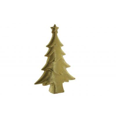 Keramik-Baum 12,8x4x19,2cm, gold 118567
