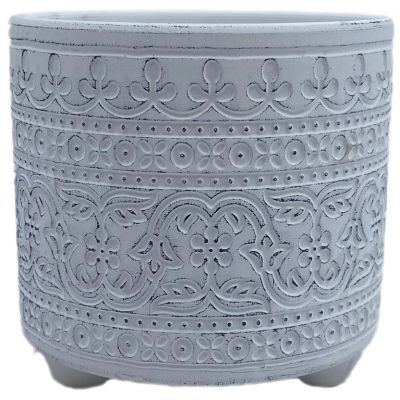 Keramik-Topf Murcia  16,2 x 16,2 x 15,3 cm hellblau 2ass 119728