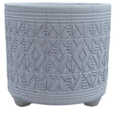 Keramik-Topf Murcia  12 x 12 x 11,3 cm hellblau 2ass 119729