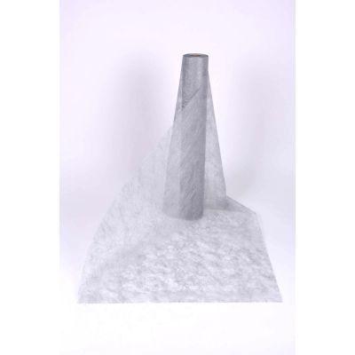 Decotuch Sizoflor silber 60cm Breit // 25 Meter 026262
