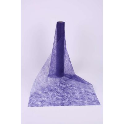 Decotuch Sizoflor purple ausfld. 60cm Breit // 25 Meter 026274