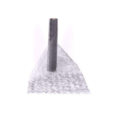 Decotuch Sizoflor dunkelgrau 60cm Breit // 25 Meter 1/1/1 026295