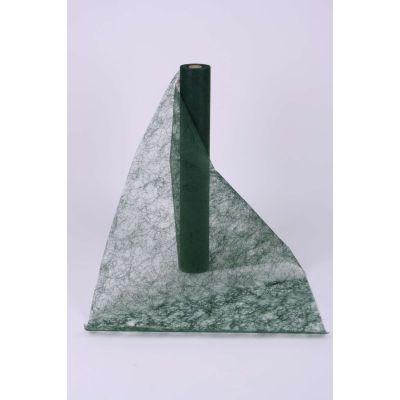 Decotuch Sizoflor dkl. grün 60cm breit // 25 Meter 026342