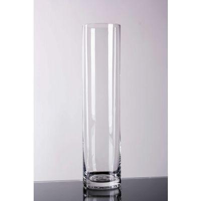 Glas Vase zylindr.klar 12/6/1 D 6 H 25 cm 062317