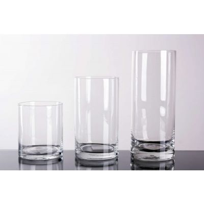 Glas Zylinder klar D 8,5 H 10 cm 068891
