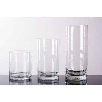 Glas Zylinder klar D 8,5 H 15 cm 068892