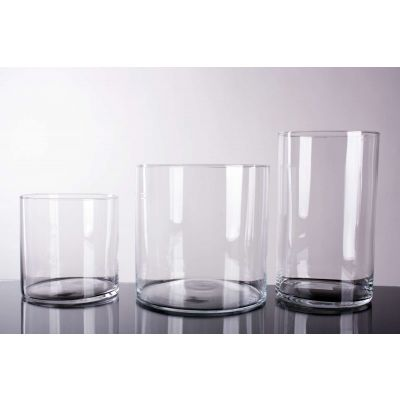 Glas Zylinder klar (6) D15 H15 cm 079986