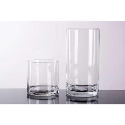 Glas Zylinder klar D10 H10 cm 090566