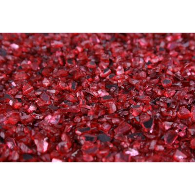 auslfd.DEKO-GRANULAT  1-4 mm rot Spiegelglas 5,5 liter Eimer 010589