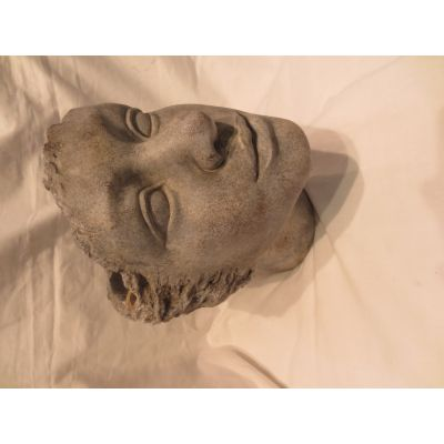 Zement-Topf Kopf 23 x 18 x 24 cm 107595