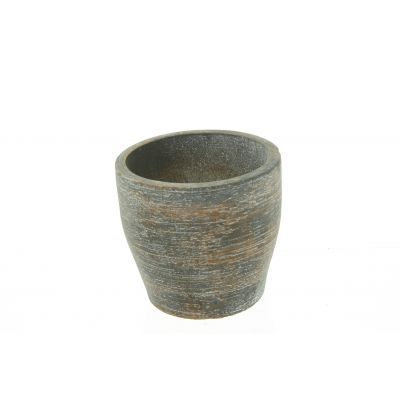 Zement-Topf Sintra 12 x 12 x 11 cm sand dkl-r 110611