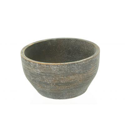 Zement-Topf Sintra 20,5 x 20,5 x 11,5 cm sand dkl-r 110613