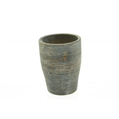 Zement-Topf Sintra  15 x 15 x 20 cm sand dkl-r 110614