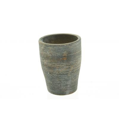 Zement-Topf Sintra  12 x 12 x 16 cm sand dkl-r 110615