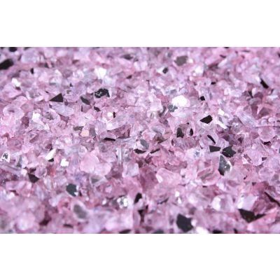 auslfd.DEKO-GRANULAT  1-4 mm rosa Spiegelglas 5,5 liter Eimer 013447