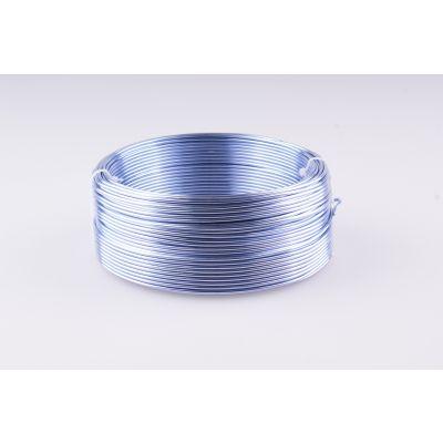Aluminium-Draht 2mm flieder 60m 017856