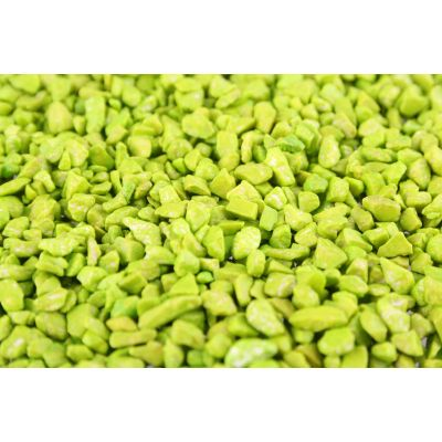 DEKO-GRANULAT  2-4mm 1,2 liter apfelgrün 1/1/1 018876