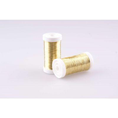 Deko-Draht Gold 0,30-0,35 mm (100 Gr) 021724