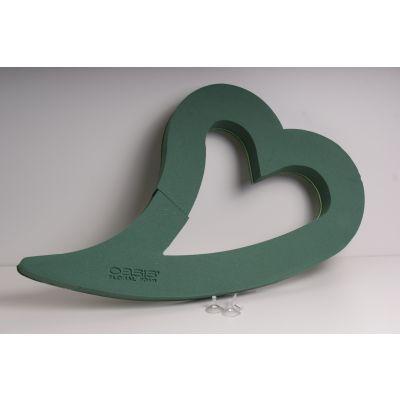 Oasis Bioline 80x50x5,5 cm Swing Herz 021828