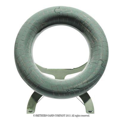 Oasis Ecobase Kranz 52 cm mit Aufsteller 026899