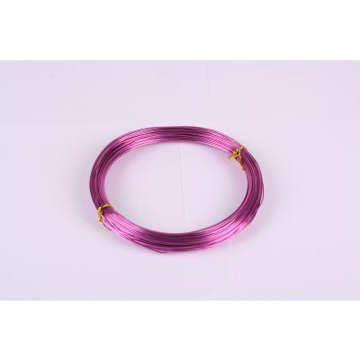 Aluminium-Draht 1mm pink 60 Meter 029087