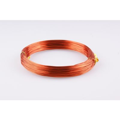 Aluminium-Draht 1mm orange  60 Meter 088429