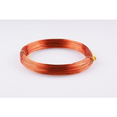 Aluminium-Draht 1mm orange  60 Meter 088429