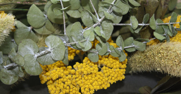 Trockenblumen Arrangement