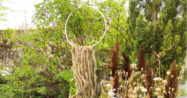 Wand Deko Garten